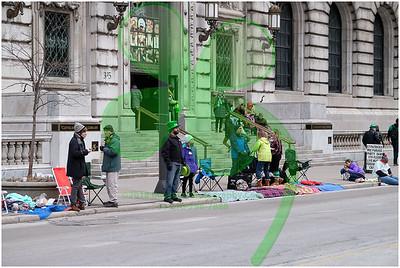 2018 Cleveland Saint Patrick's Day Parade - Spectators