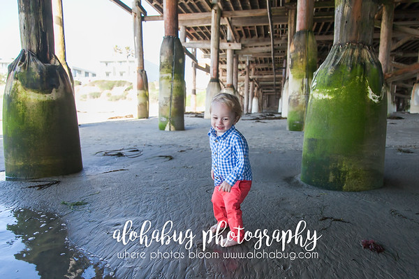 2 Year Old Photos at Crystal Pier