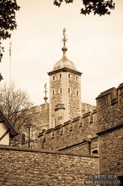 Castle in London  Photography by Wayne Heim