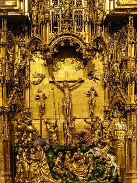 Dijon Beaux Arts Museum -The Crucifixion Altarpiece - The Crucifixion