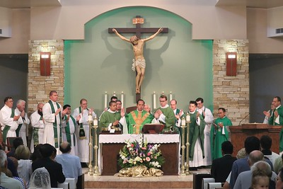 First Mass for Father Vinhson