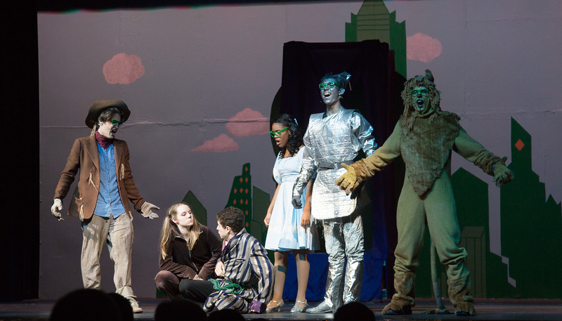 """Who Do You Think You Are?"" -- ""The Wiz"", Montgomery Blair High School spring musical, March 26, 2017"