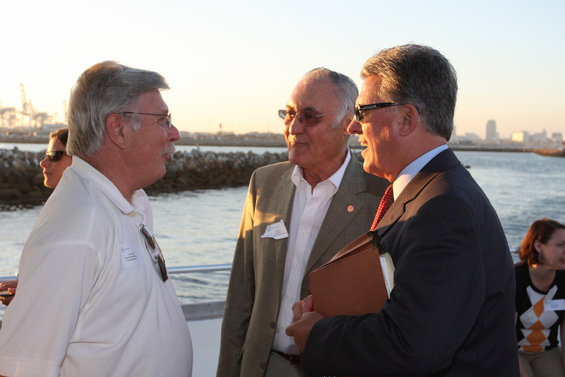 Art Leahy (Metro CEO), Larry Zarian (CTC Commissioner), Norm Emerson