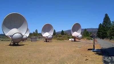 Mount Lassen - Hat Creek - Allen Telescope Array