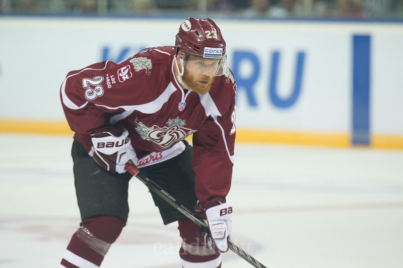 Aleksandrs Jerofejevs (23) of Dinamo Riga