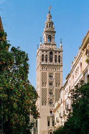 Around Sevilla during Semana Santa