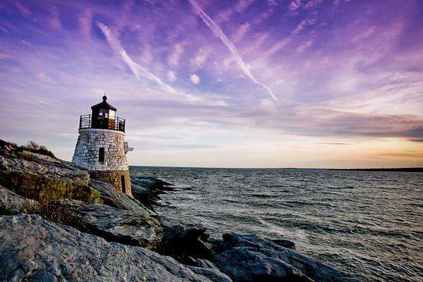 Lighthouses & the Coast