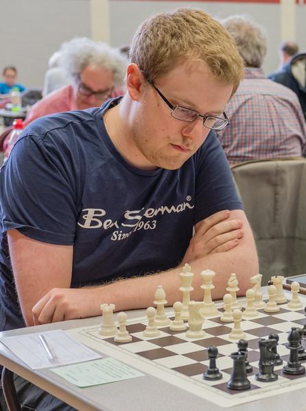 Tobias Baumann, major section winner