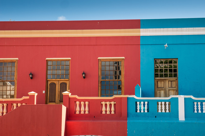 Bo-Kaap Neighbood in Cape Town