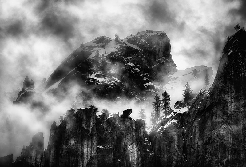 Fog, Yosemite Valley