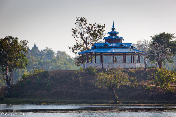 Laksay Kan Gate, Lake and Pagoda, Mrauk U