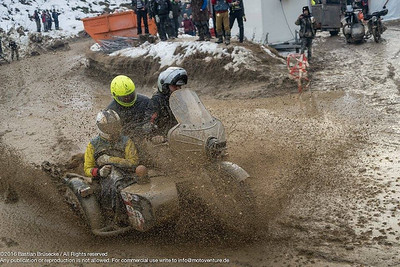 Sidecars in the mud  just for Fun..
