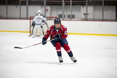 1/22/20: Girls' Thirds Hockey v Canterbury