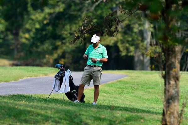Men's golf-MU Invitational 2013-Brad Helton