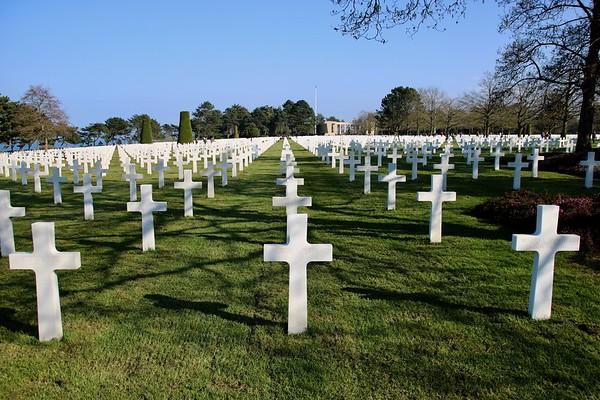 Omaha Beach and Cemetery