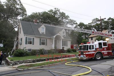 Wakefield, MA - Working Fire, 17 Gladstone Street, 8-7-11