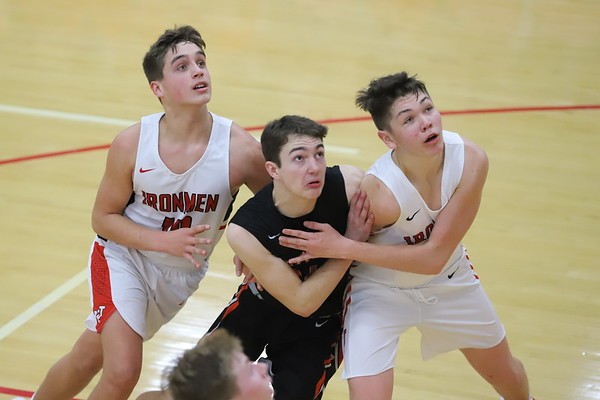 06JV Boys Basketball:  Wheelersburg JV at Jackson JV 2019