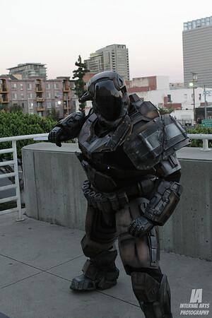 Sean Shaw as Master Chief @ Comickaze 2012