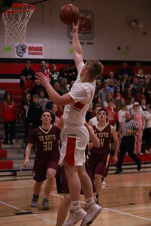Benton @ Iowa-Grant Boys Basketball 3-6-20