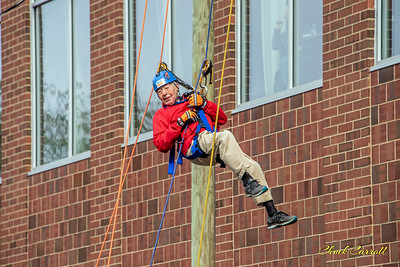 Over The Edge State College PA sponsored by the Interfaith Human Services, Inc. - October 17, 2019