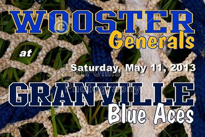 2013 Wooster at Granville (05-11-13) Senior Night