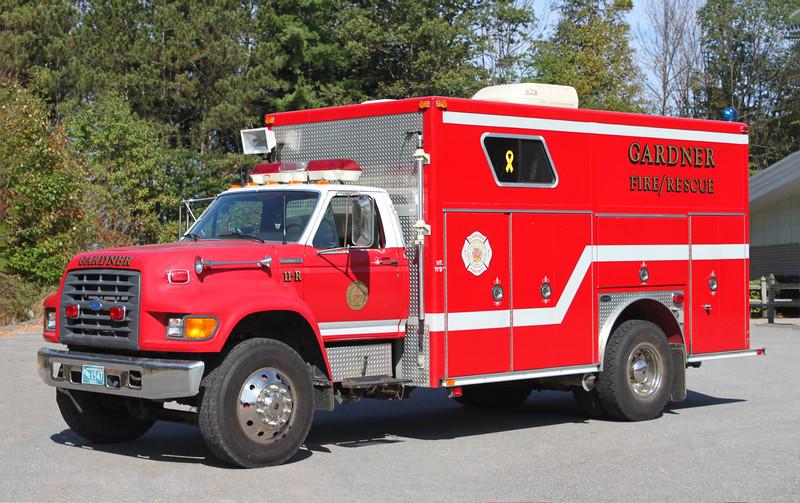Rescue 1.  1997 Ford / E-One