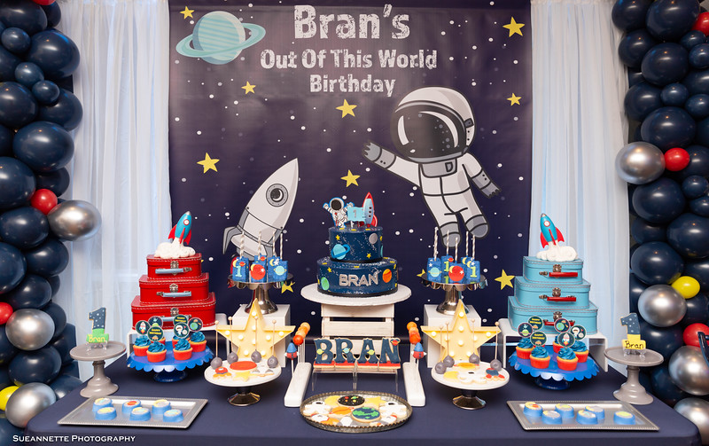 "Bran's ""Out Of This World"" Birthday"