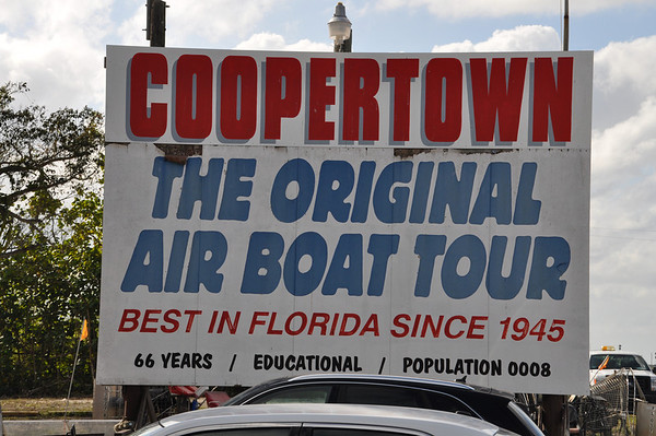 Coopertown Air Boat Ride 20130110
