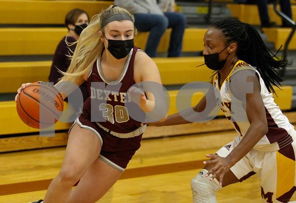 Dexter Girls Basketball vs. Mercy 02-09-2021