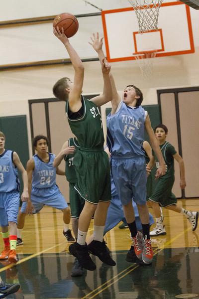 Lumberjack 8th grade boy vs postfalls 1-29-2013