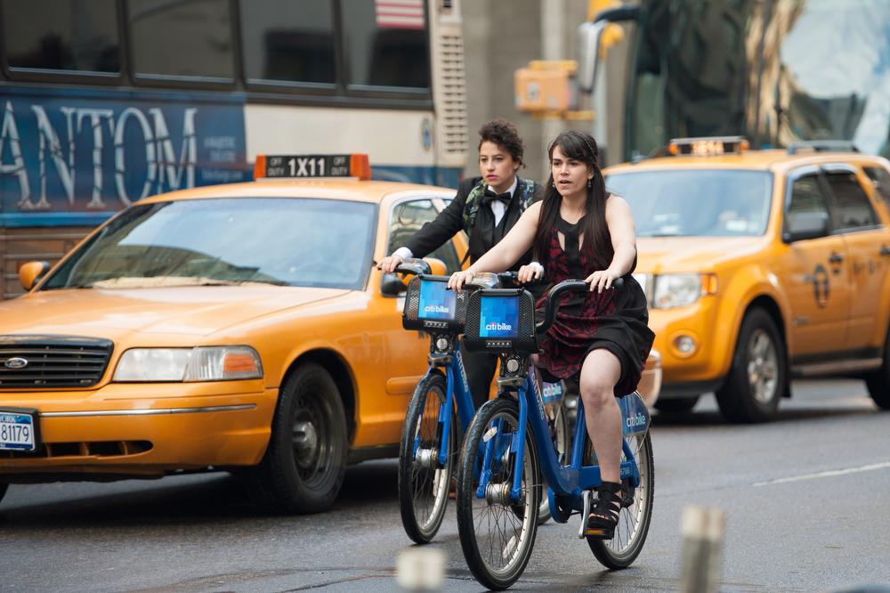 ". Ilana Glazer and Abbi Jacobson (l-r) \""Broad City.\"" (Photo by Ali Goldstein)"