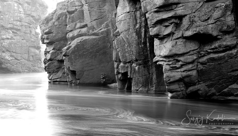 Cliffs of Buki canyon, Ukraine