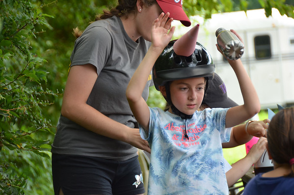 Horseback riding camp July 2018