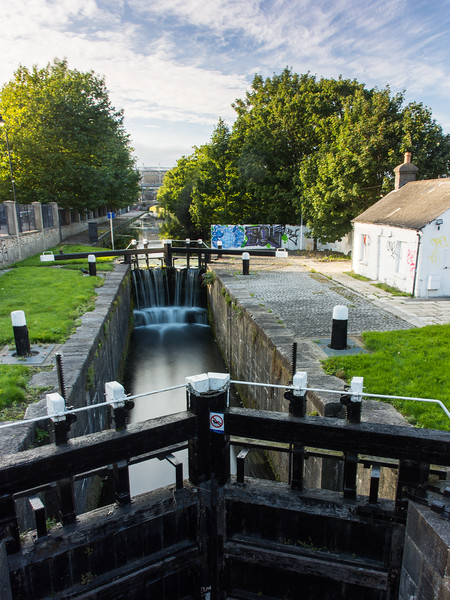 #RoyalCanal No 1 Lock, #Dublin