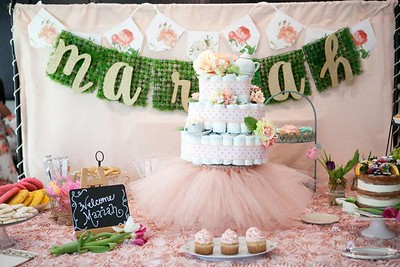 Cece's Baby Shower {Mariah's 1st Tea Party}