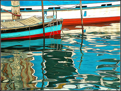 Sottomarina molo: Water Reflection