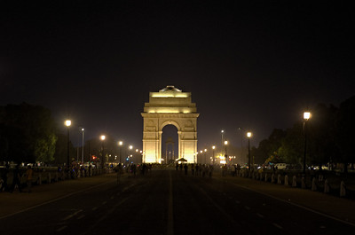 India gate - 20th april night 2011