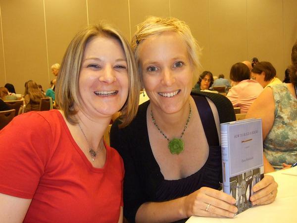 Heather with Teen Author Dana Reinhardt.jpg