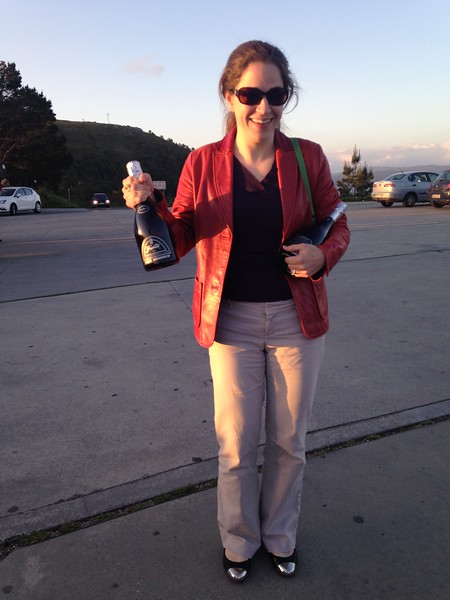 Cava for travelers, Cape Finisterre - Carolyn Hilles-Pilant