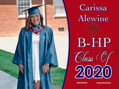 2020 Senior Yard Signs