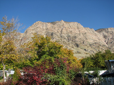 Ogden Mountains - view from my daughter's front yard