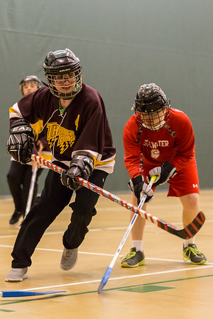 Thunderbolts v. Stillwater Adapted Floor Hockey