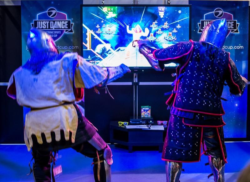 Just Dance at Gamescom 2015