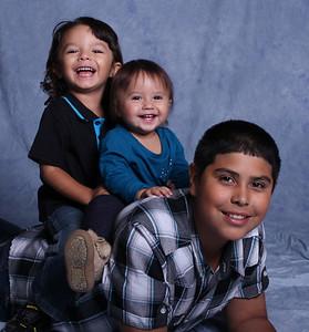 The Munos Kids, October, 2015
