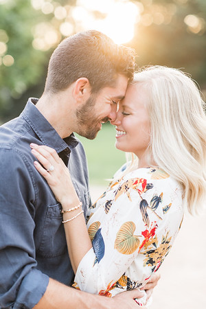 Megan and Derek's Engagement in Downtown Lancaster