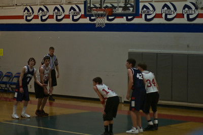 Newport Storm 8th Grade Boys B-Ball Game