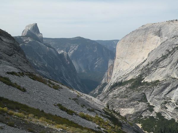 Descending Tenaya Canyon (September 2015)