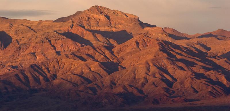 Evening light on the Amargosa range, Death Valley National Park
