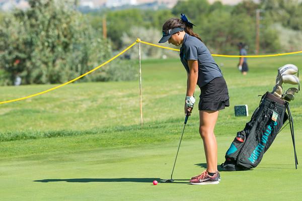 North Valleys Girls Golf