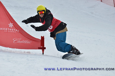 CNISSF Snowboard State Championships 2014 GS